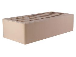 Кирпич облицовочный керамический пустотелый одинарный слоновая кость (250х120х65) с фаской, с утолщённой лицевой стенкой (20мм)производства ООО «ОСМиБТ» г.Старый Оскол. Изготовленный на итальянской линии по производству облицовочного кирпича Е1