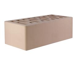 Кирпич облицовочный керамический пустотелый полуторный слоновая кость (250х120х88) с фаской, с утолщённой лицевой стенкой (20мм)производства ООО «ОСМиБТ» г.Старый Оскол. Изготовленный на итальянской линии по производству облицовочного кирпича Е1