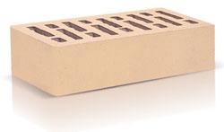 Кирпич облицовочный керамический пустотелый одинарный цвета слоновой кости (250х120х65) без фаски, с утолщённой лицевой стенкой (20мм)производства ООО «ОСМиБТ» г.Старый Оскол. Изготовленный на французской линии по производству облицовочного кирпича Е2 (французское оборудование Ceric)