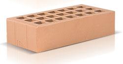 Кирпич соломенный, песочный одинарный (250х120х65) производства ЗАО «Железногорский кирпичный завод». Железногорский кирпич производится на испанских производственных линиях. Это оборудование позволяет достичь устойчивости окрашивания поверхности материала, точности его геометрии, морозостойкости F35-50 и низкого коэффициента теплопроводности.