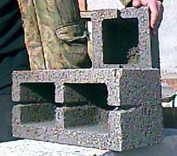 Керамзитобетонные блоки стеновые двухкамерные КБС-40 (40х20х20) производственного предприятия «Стеновой камень» Старый Оскол