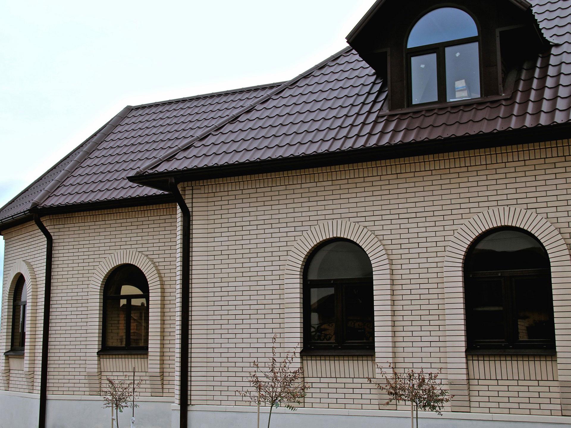 Дома из керамического кирпича   фото домов из кирпича ... Керамзитобетонные Блоки