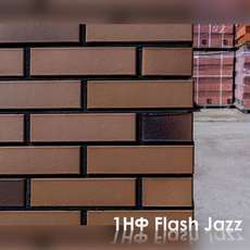 Кирпич Flash Jazz Джаз 1НФ Баварская кладка 250х120х65